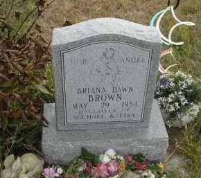 BROWN, BRIANA DAWN - Lincoln County, Nebraska   BRIANA DAWN BROWN - Nebraska Gravestone Photos