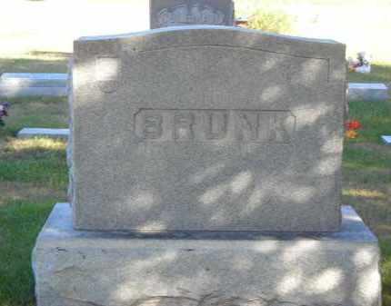 BRUNK, FAMILY STONE - Lincoln County, Nebraska | FAMILY STONE BRUNK - Nebraska Gravestone Photos