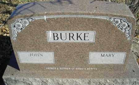 BURKE, JOHN - Lincoln County, Nebraska | JOHN BURKE - Nebraska Gravestone Photos
