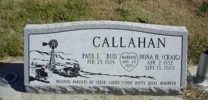 CALLAHAN, NONA  H. - Lincoln County, Nebraska | NONA  H. CALLAHAN - Nebraska Gravestone Photos