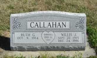 CALLAHAN, WILLIS J. - Lincoln County, Nebraska | WILLIS J. CALLAHAN - Nebraska Gravestone Photos