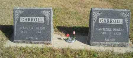 CARROLL, AMA CAROLINE - Lincoln County, Nebraska | AMA CAROLINE CARROLL - Nebraska Gravestone Photos