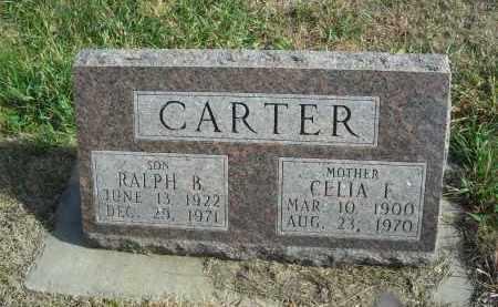CARTER, CELIA F. - Lincoln County, Nebraska | CELIA F. CARTER - Nebraska Gravestone Photos