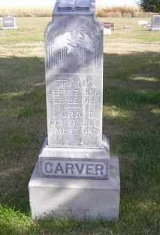 CARVER, DORA D. - Lincoln County, Nebraska | DORA D. CARVER - Nebraska Gravestone Photos