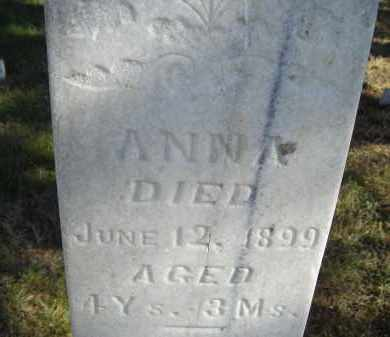 CHRISTENSEN, ANNA - Lincoln County, Nebraska   ANNA CHRISTENSEN - Nebraska Gravestone Photos