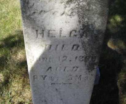 CHRISTENSEN, HELGA - Lincoln County, Nebraska   HELGA CHRISTENSEN - Nebraska Gravestone Photos