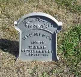 CHRISTENSEN, MARIE - Lincoln County, Nebraska | MARIE CHRISTENSEN - Nebraska Gravestone Photos