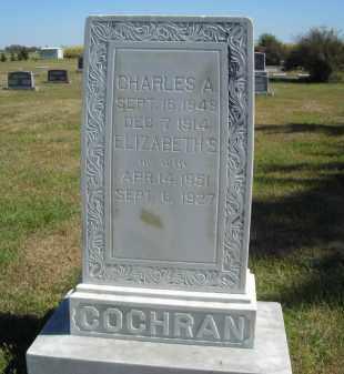 COCHRAN, CHARLES J. - Lincoln County, Nebraska   CHARLES J. COCHRAN - Nebraska Gravestone Photos