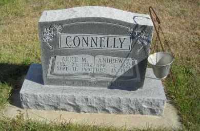 CONNELLY, ALICE M - Lincoln County, Nebraska | ALICE M CONNELLY - Nebraska Gravestone Photos