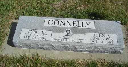 CONNELLY, JOHN A. - Lincoln County, Nebraska | JOHN A. CONNELLY - Nebraska Gravestone Photos