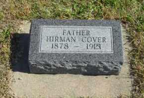 COVER, HIRMAN - Lincoln County, Nebraska   HIRMAN COVER - Nebraska Gravestone Photos
