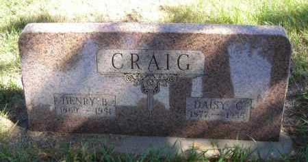 CRAIG, HENRY B. - Lincoln County, Nebraska   HENRY B. CRAIG - Nebraska Gravestone Photos