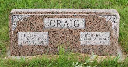 CRAIG, ROBERT L. - Lincoln County, Nebraska | ROBERT L. CRAIG - Nebraska Gravestone Photos