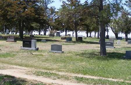 *DICKENS CEMETERY, VIEW OF - Lincoln County, Nebraska | VIEW OF *DICKENS CEMETERY - Nebraska Gravestone Photos