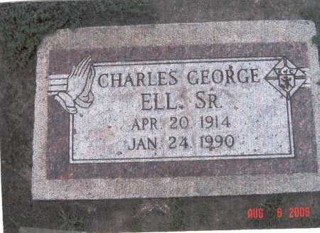 ELL, SR, CHARLES GEORGE - Lincoln County, Nebraska | CHARLES GEORGE ELL, SR - Nebraska Gravestone Photos