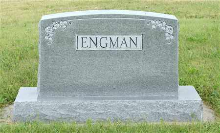 ENGMAN, FAMILY STONE - Lincoln County, Nebraska | FAMILY STONE ENGMAN - Nebraska Gravestone Photos