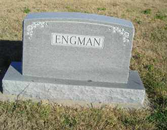 ENGMAN,, FAMILY STONE - Lincoln County, Nebraska | FAMILY STONE ENGMAN, - Nebraska Gravestone Photos