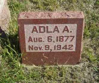 ERICKSON, ADLA A. - Lincoln County, Nebraska | ADLA A. ERICKSON - Nebraska Gravestone Photos