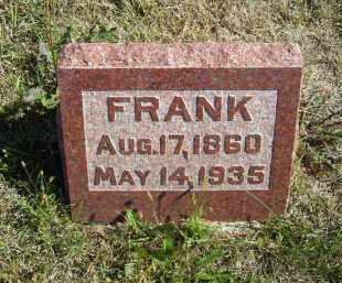 ERICKSON, FRANK - Lincoln County, Nebraska | FRANK ERICKSON - Nebraska Gravestone Photos