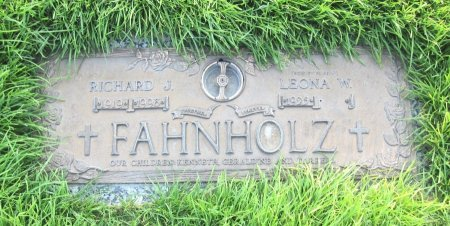 FAHNHOLZ, LEONA - Lincoln County, Nebraska | LEONA FAHNHOLZ - Nebraska Gravestone Photos