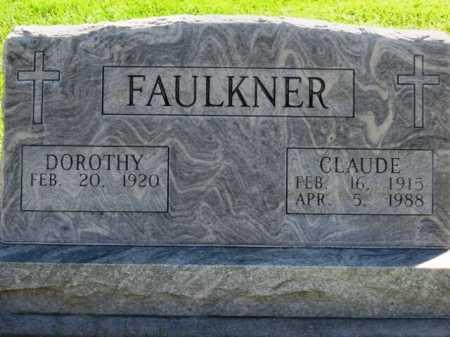 KONEN FAULKNER, DOROTHY - Lincoln County, Nebraska | DOROTHY KONEN FAULKNER - Nebraska Gravestone Photos