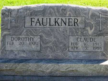 FAULKNER, CLAUDE (PAUL) - Lincoln County, Nebraska | CLAUDE (PAUL) FAULKNER - Nebraska Gravestone Photos