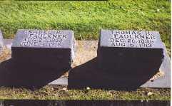 REYNOLDS FAULKNER, LUCINDA ISABELLE - Lincoln County, Nebraska | LUCINDA ISABELLE REYNOLDS FAULKNER - Nebraska Gravestone Photos