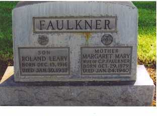 SIMONS FAULKNER, MARIA MARGARETA - Lincoln County, Nebraska | MARIA MARGARETA SIMONS FAULKNER - Nebraska Gravestone Photos