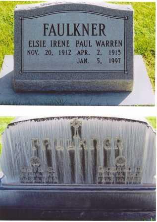 FAULKNER, PAUL WARREN - Lincoln County, Nebraska | PAUL WARREN FAULKNER - Nebraska Gravestone Photos