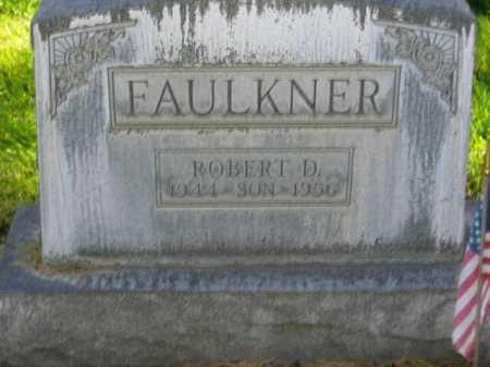 FAULKNER, ROBERT DANIEL - Lincoln County, Nebraska | ROBERT DANIEL FAULKNER - Nebraska Gravestone Photos