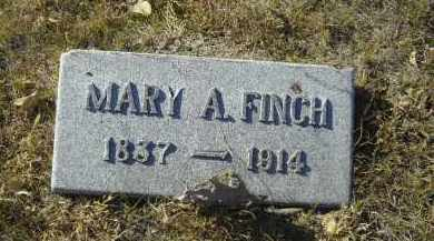 FINCH, MARY A. - Lincoln County, Nebraska | MARY A. FINCH - Nebraska Gravestone Photos