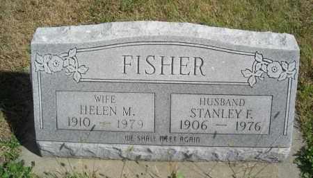 FISHER, HELEN M - Lincoln County, Nebraska   HELEN M FISHER - Nebraska Gravestone Photos
