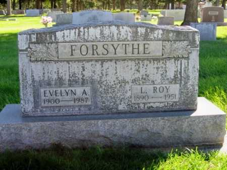 HOFMEISTER FORSYTHE, EVELYN AGNES - Lincoln County, Nebraska | EVELYN AGNES HOFMEISTER FORSYTHE - Nebraska Gravestone Photos