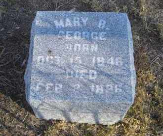 GEORGE, MARY B. - Lincoln County, Nebraska | MARY B. GEORGE - Nebraska Gravestone Photos