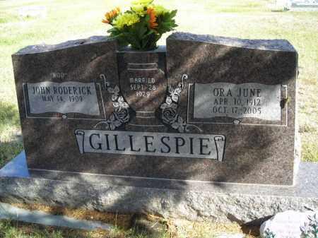 GILLESPIE, JOHN RODERICK, (ROD) - Lincoln County, Nebraska | JOHN RODERICK, (ROD) GILLESPIE - Nebraska Gravestone Photos
