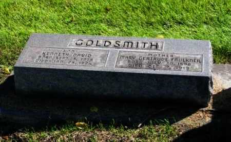 FAULKNER GOLDSMITH, MARY GERTRUDE - Lincoln County, Nebraska | MARY GERTRUDE FAULKNER GOLDSMITH - Nebraska Gravestone Photos