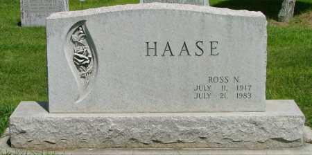 HAASE, ROSS - Lincoln County, Nebraska | ROSS HAASE - Nebraska Gravestone Photos