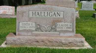 HALLIGAN, CLAUDE - Lincoln County, Nebraska | CLAUDE HALLIGAN - Nebraska Gravestone Photos
