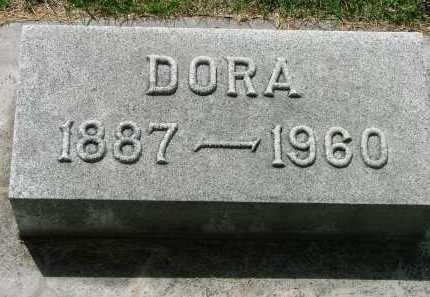 HALLIGAN, DORA - Lincoln County, Nebraska   DORA HALLIGAN - Nebraska Gravestone Photos