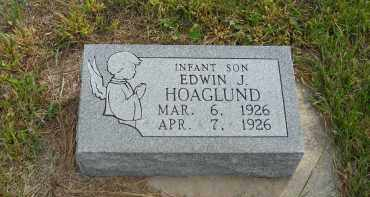 HOAGLUND, EDWIN J. - Lincoln County, Nebraska | EDWIN J. HOAGLUND - Nebraska Gravestone Photos