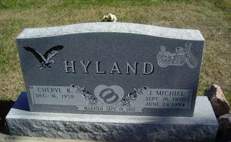 HYLAND, CHERYL K - Lincoln County, Nebraska | CHERYL K HYLAND - Nebraska Gravestone Photos