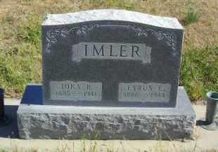 IMLER, CYRUS C. - Lincoln County, Nebraska   CYRUS C. IMLER - Nebraska Gravestone Photos