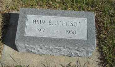 JOHNSON, AMY E. - Lincoln County, Nebraska | AMY E. JOHNSON - Nebraska Gravestone Photos