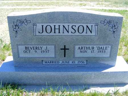 "JOHNSON, ARTHUR ""DALE"" - Lincoln County, Nebraska | ARTHUR ""DALE"" JOHNSON - Nebraska Gravestone Photos"