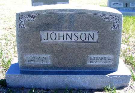 JOHNSON, EDWARD J. - Lincoln County, Nebraska | EDWARD J. JOHNSON - Nebraska Gravestone Photos