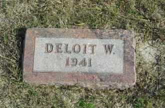 JOHNSON, DELOIT W. - Lincoln County, Nebraska | DELOIT W. JOHNSON - Nebraska Gravestone Photos