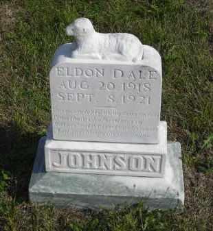 JOHNSON, ELDON DALE - Lincoln County, Nebraska   ELDON DALE JOHNSON - Nebraska Gravestone Photos