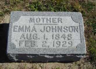 JOHNSON, EMMA - Lincoln County, Nebraska | EMMA JOHNSON - Nebraska Gravestone Photos
