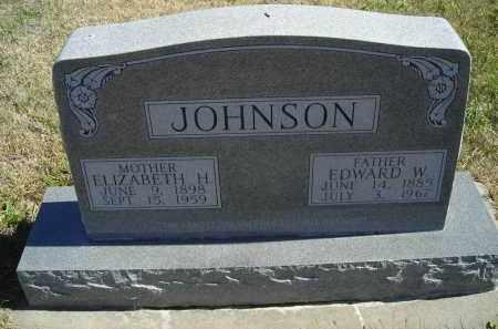 JOHNSON, ELIZABETH H. - Lincoln County, Nebraska | ELIZABETH H. JOHNSON - Nebraska Gravestone Photos