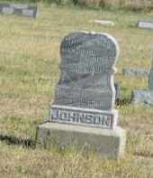 JOHNSON, ELLA - Lincoln County, Nebraska | ELLA JOHNSON - Nebraska Gravestone Photos